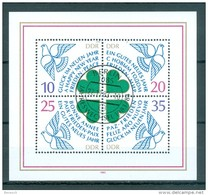 DDR - Block Nr. 75 Neujahr 1984 Gestempelt - [6] República Democrática
