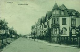 AK Hagen, Fleyerstrasse, O 1909, Großer Eckknick Oben Rechts (14323) - Hagen