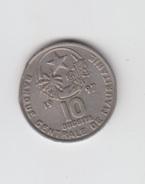 MAURITANIE - 10 DUGUIYA - 1997 - Mauretanien