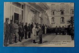 Cpa MILITARIA GUERRE 1914 DEAUVILLE HOTEL ROYAL REMISE DE LA MEDAILLE MILITAIRE En 1915 - Deauville