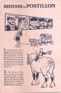 France Buvard Histoire Du Postillon ( Pliure, Auréole ) 21 Cm X 14 Cm - Buvards, Protège-cahiers Illustrés