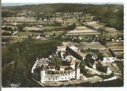 VIGNIEU - Vue Générale Aérienne. Au 1er Plan, Le Château De Chapeau Cornu - France