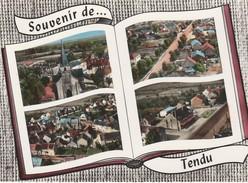 CP  37  TENDU   101  Livre  Ouvert  -   Village  500 Habitants - France
