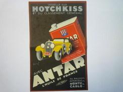 "Jolie DOC PUB  "" ANTAR ""    - Publicités"