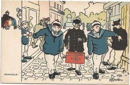 Z3832 Dominique - Marins - Humor Houmor - Illustrazione Illustration H. Gervese / Non Viaggiata - Gervese, H.