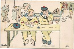 Z3833 En Collaboration - Marins - Humor Houmor - Illustrazione Illustration H. Gervese / Non Viaggiata - Gervese, H.