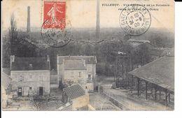 """77 VILLENOY CPA 1908 """"VUE AERIENNE DE LA SUCRERIE"""" - Villenoy"""