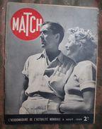 MATCH : 1939 : ESPAGNE - FRANCO . GUERRE 14 . VICHY . MUSSOLINI . MARINS RUSSES .LE DALAÏ LAMA . ACTUALITES . Etc .... - Newspapers