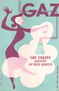 France Buvard Gaz ( Pliure, ) 21 Cm X 13,5 Cm - Buvards, Protège-cahiers Illustrés