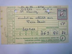 "TIMBRE FISCAL  ""AMENDE""   20F   1973   - Fiscaux"