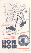 France Cirage Lion Noir ( Pliure )20,5 Cm X 11,5 Cm - Blotters