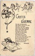 ANDRE ROBERT - Cartes De Rationnement - Poeme De Marinès (98591) - Autres Illustrateurs