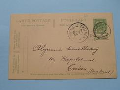 Briefkaart Hamont > Thienen / Tienen (Brabant) () 1911 ( Zie Foto Details / Tekst ) !! - Hamont-Achel