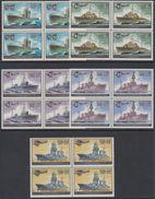 USSR Russia 1982 Block WWII WW2 World War History Soviet Navy Miltary Submarines Ships Ship Transport Stamps Mi 5216-20 - 2. Weltkrieg