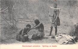 RHODESIE / Barotseland Salutation - Spitting On Hands - Sonstige