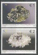 KOS 2014-295-6 MINERAL, KOSOVO, 1 X 2v, MNH - Minéraux