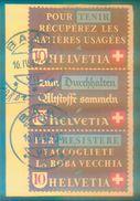 S Zd 10 Michel 45 € - Altstoffverwertung 1942 - Schweiz