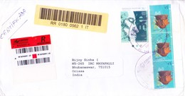 ARGENTINA REGISTERED COMMERCIAL COVER 2006 - BOOKED FORM MATINEZ FOR INDIA - Argentina