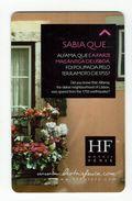 HOTEL FENIX PORTO HOUSE BALCON  PORTUGAL, Llave Clef Key Keycard Hotelkarte - Etiquetas De Hotel