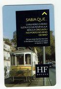 HOTEL FENIX PORTO TRAMWAY TRAIN  PORTUGAL, Llave Clef Key Keycard Hotelkarte - Etiquetas De Hotel