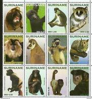 Surinam / Suriname 2010 Apen Apes Monkeys Ape Affen Singe MNH - Apen