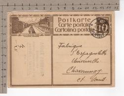 La Chaux-de-Fonds - Métropole Horlogère (1929) - Stamped Stationery