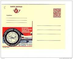 Publibel Neuve N° 2695 F (Ostende-Dover) - Ganzsachen