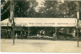 Photo Carte: AHIREP Rochefort Stand Ecole Civile D'Aviation Fourcaud - Rochefort
