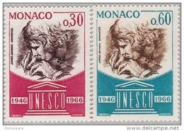 MONACO 1966 - SERIE N° 700 Et 701 - 2 TP NEUFS** - Monaco