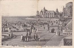 OOSTENDE - BELGIQUE - CPA ANIMÉE DE 1937. - Oostende