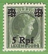 MiNr.19 Xx Deutschland Besetzte Gebiete II.WK Luxemburg - Besetzungen 1938-45