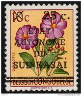 ~~~ Sud Kasai  1961 -  COB 3  ** MNH  ~~~ - South-Kasaï