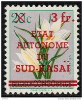 ~~~ Sud Kasai  1961 -  COB 8  ** MNH  ~~~ - Sud-Kasaï
