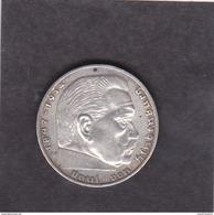 Pièce De 2 Reichsmark  1939 A    KM # 93. - 2 Reichsmark