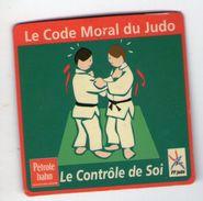 MAGNET           LE CODE MORAL DU JUDO      LE CONTROLE DE SOI - Sports