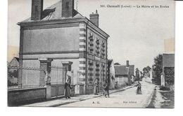 LOIRET-CHEMAULT La Mairie Et Les Ecoles-MO - France