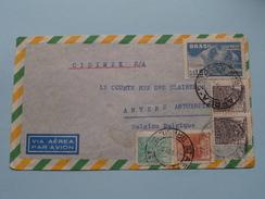 Brasil > AnversBelgica ( Zie/voir Foto´s Voor/pour Détails ) Anno 1950 !! - Poste Aérienne