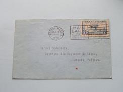 Moston Massachusetts > Hasselt Belgium ( Zie/voir Foto´s Voor/pour Détails ) Anno 1929 !! - Poste Aérienne
