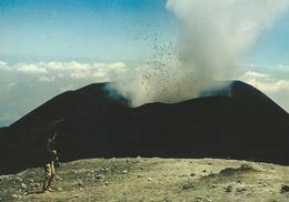 Etna - Explosion Of The North-East Crater.  Italy.  # 06786 - Unclassified