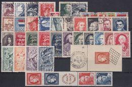 FRANCIA 1949 Nº 823/862 AÑO COMPLETO USADO - 1940-1949