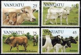 MDA-BK24-451 MINT ¤ VANUATU 1983 4w In Serie ¤ ANIMALS OF THE WORLD - MAMMALS - Koeien