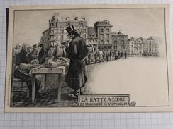 La Batte à Liège- La Marchande De Victuaille - Liege