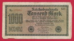 Billet Allemand - Mille Mark - N° 175553 - [ 2] 1871-1918 : German Empire