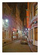 """Commune Libre/Vrije Gemeente """"L'ilot Sacré"""" Restaurant Aux Armes De Bruxelles 21-9-68 (2 Scans) - Brussel Bij Nacht"""