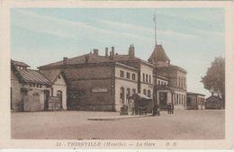 CPA:  THIONVILLE (Dpt. 57):    La Gare.   (D1148) - Thionville