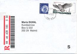 Sweden Registered Cover Sent To Malmö Nässjö 17-9-1999 - Sweden