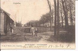 Cappellen: Op Den Buiten -  Vroege Kaart Collectie F. Hoelen (nummer 732) - Kapellen
