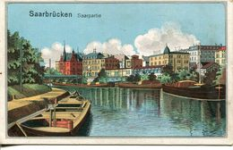 Saarbrücken - Saarpartie 1919 (001148) - Saarbrücken