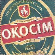 COASTER - PREPARED BY HARD CARD BOARD - OKOCIM, POLSKA / POLAND - Magnets