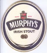 COASTER - PREPARED BY HARD CARD BOARD - MURPHY'S IRISH STOUT - Unclassified
